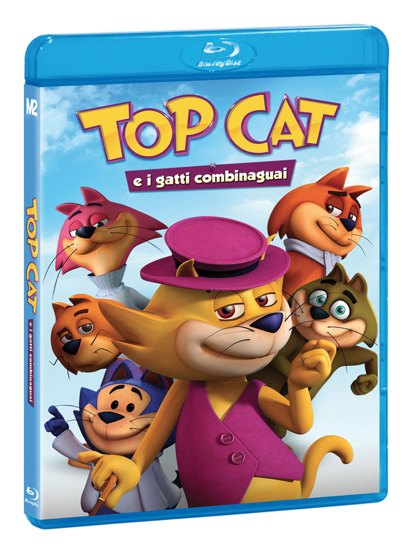 TOP CAT E I GATTI COMBINAGUAI (BLU-RAY)