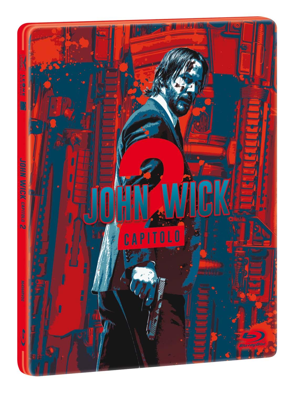 JOHN WICK - CAPITOLO 2 (STEELBOOK) - BLU RAY