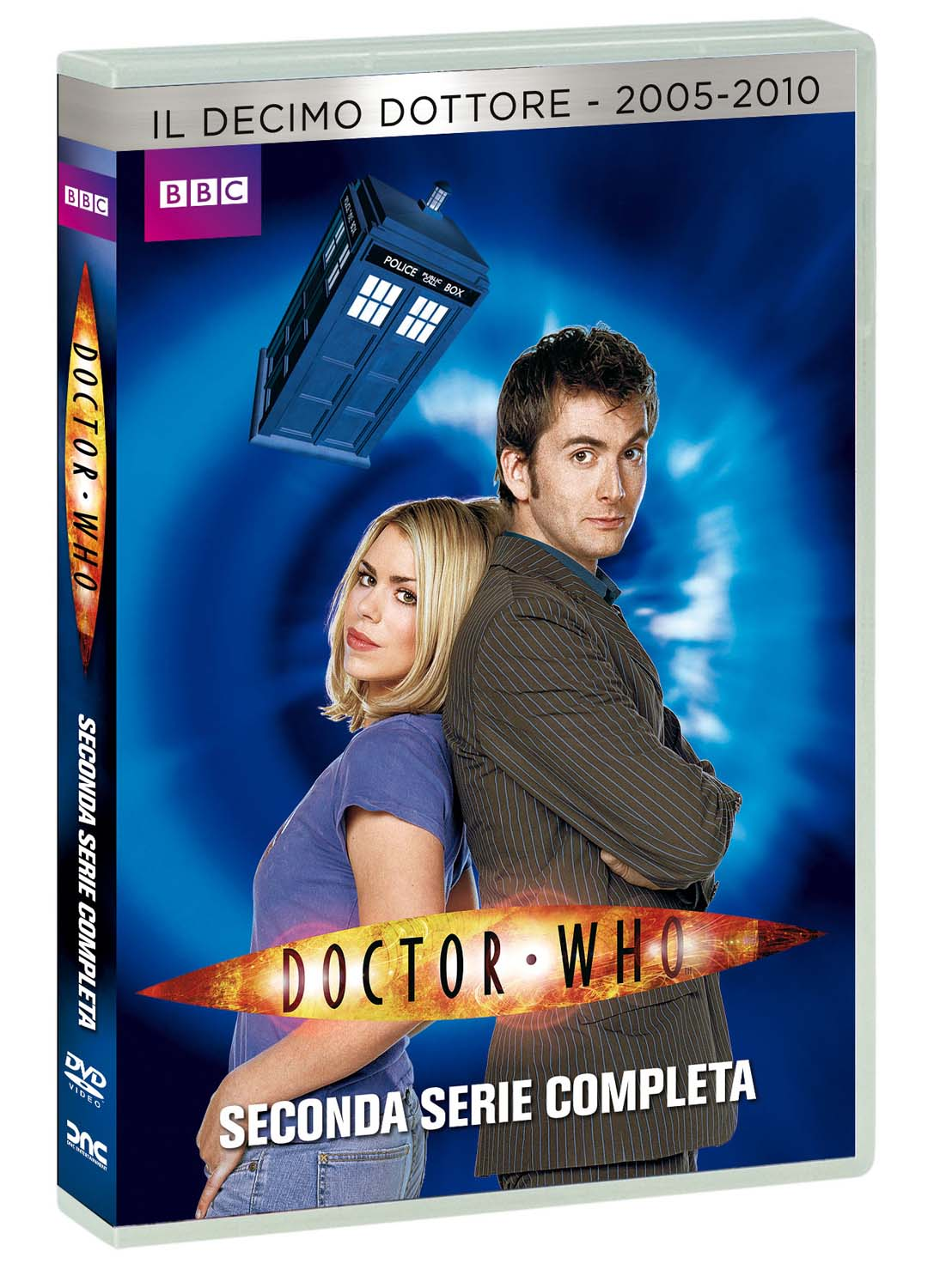 COF.DOCTOR WHO - STAGIONE 02 NEW EDITION (6 DVD) (DVD)