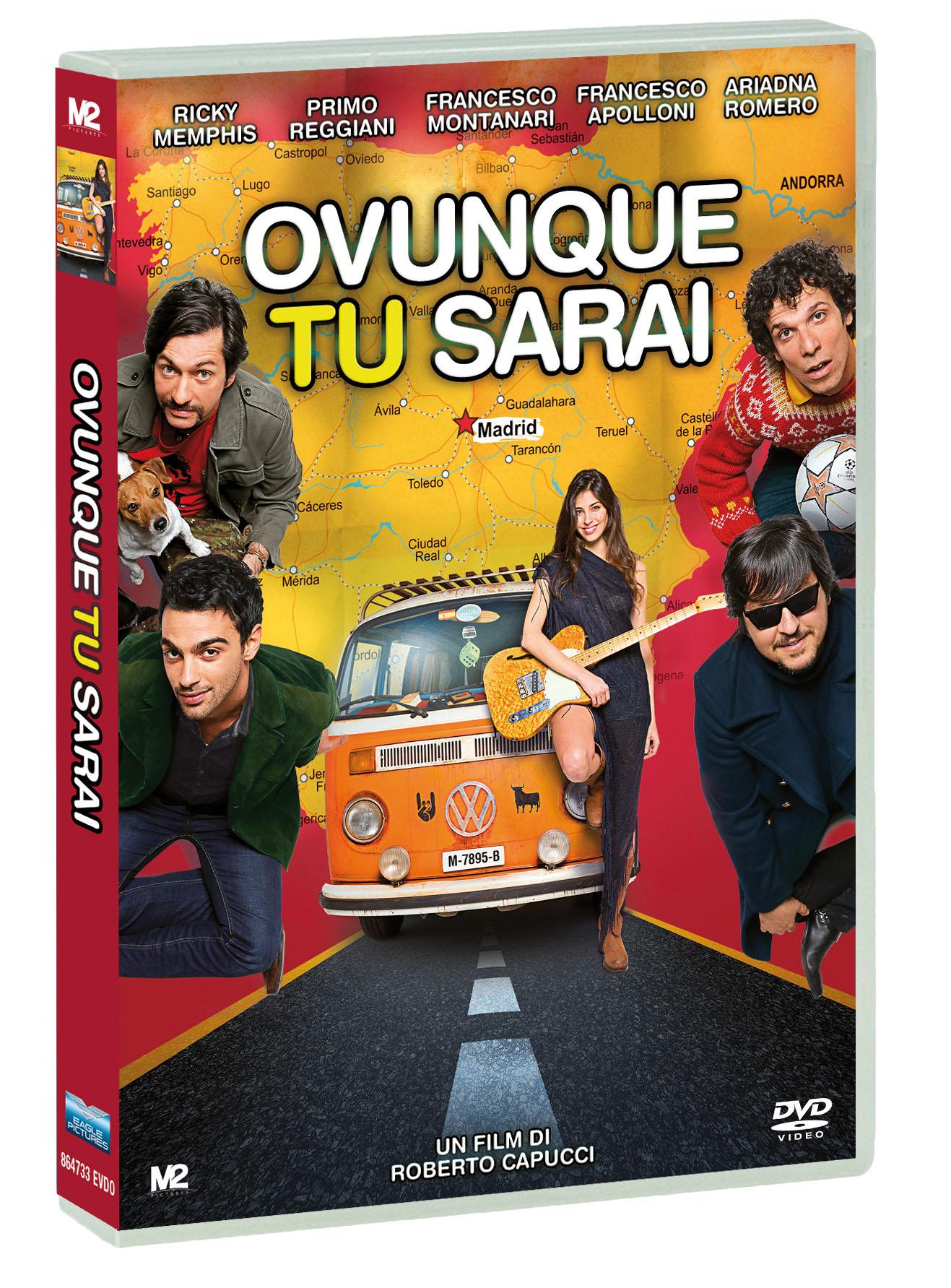 OVUNQUE TU SARAI (DVD)