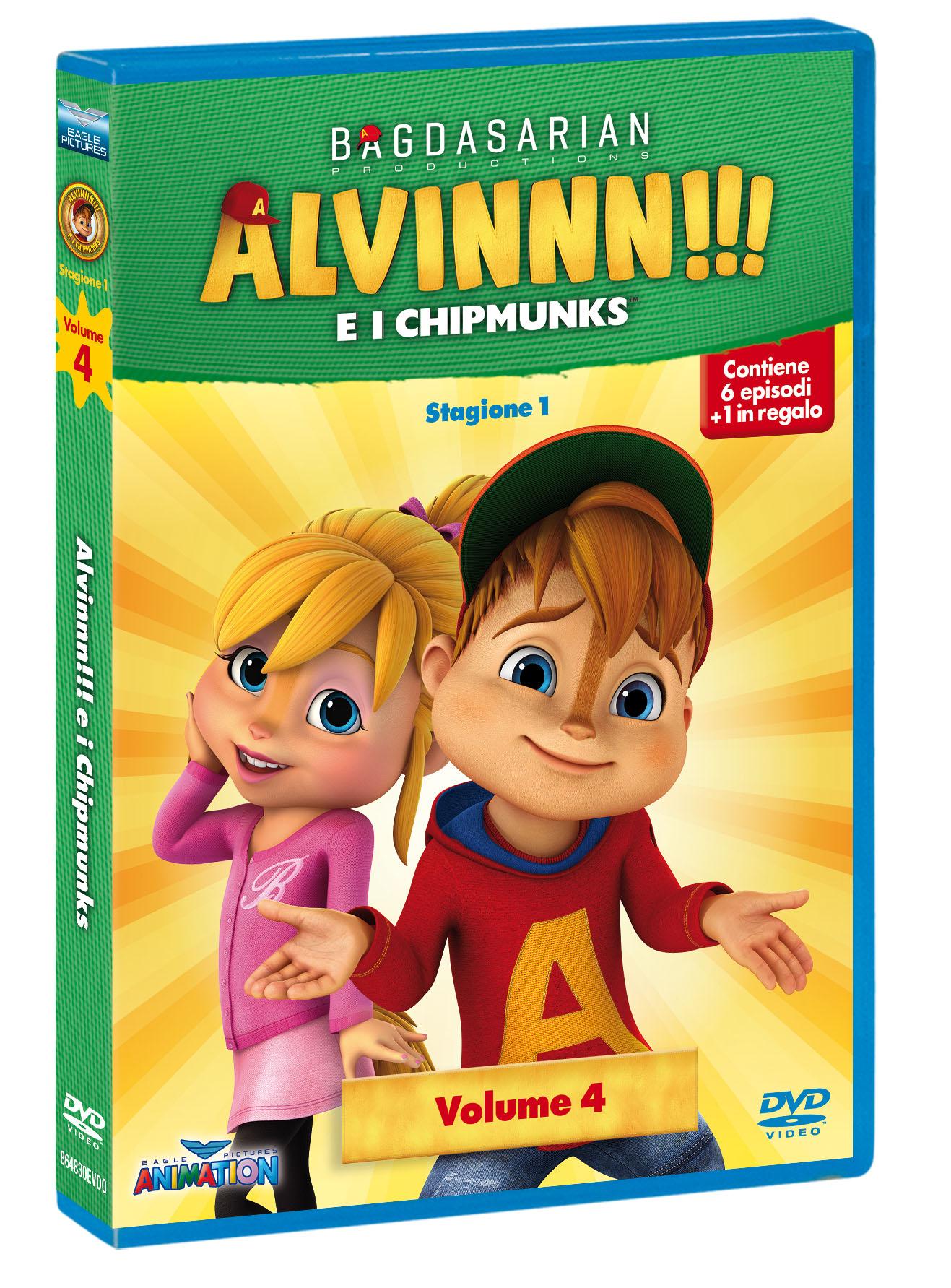 ALVINNN!!! E I CHIPMUNKS - STAGIONE 01 #04 (DVD)