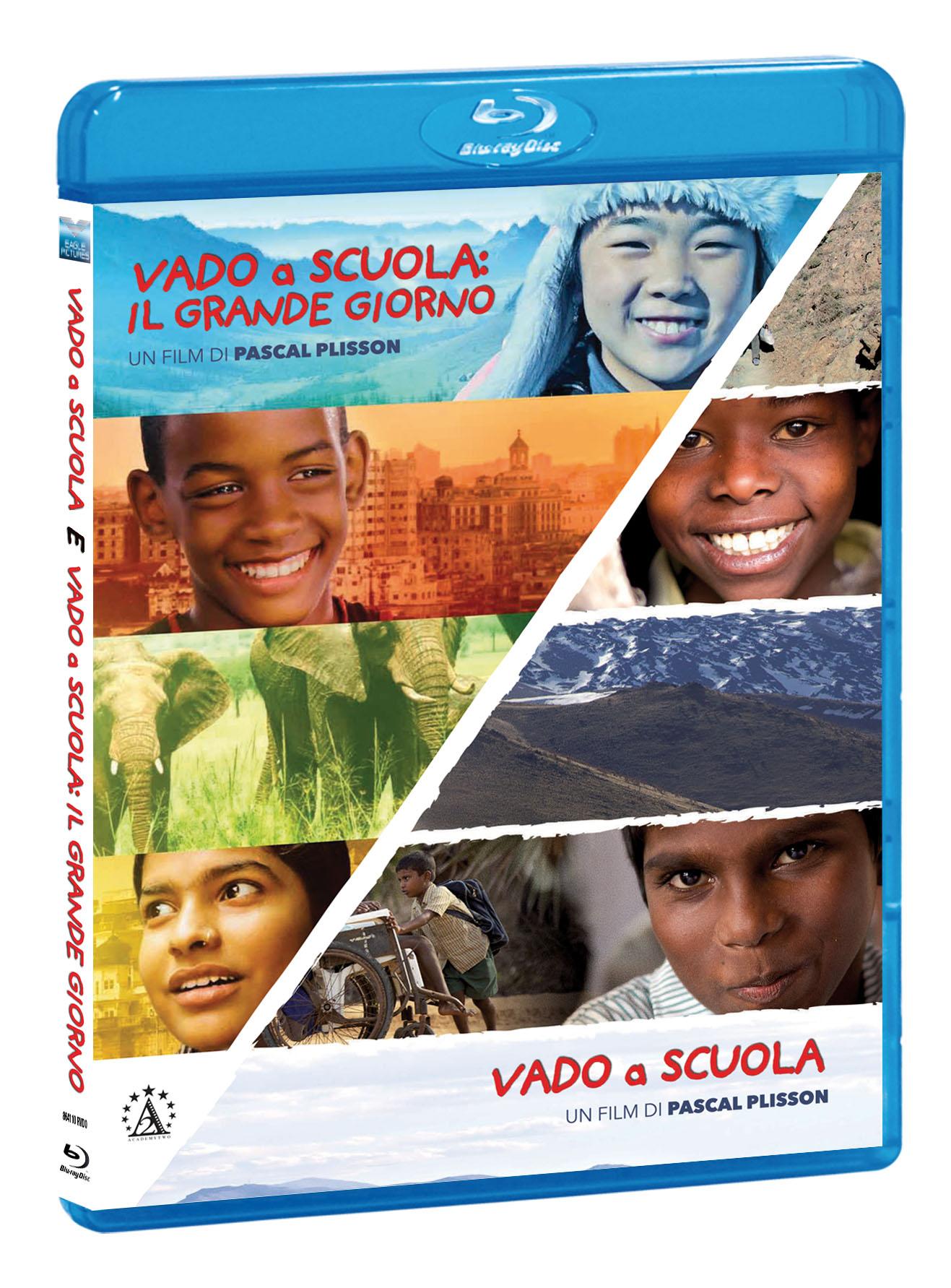 COF.VADO A SCUOLA / VADO A SCUOLA: IL GRANDE GIORNO (2 BLU-RAY)