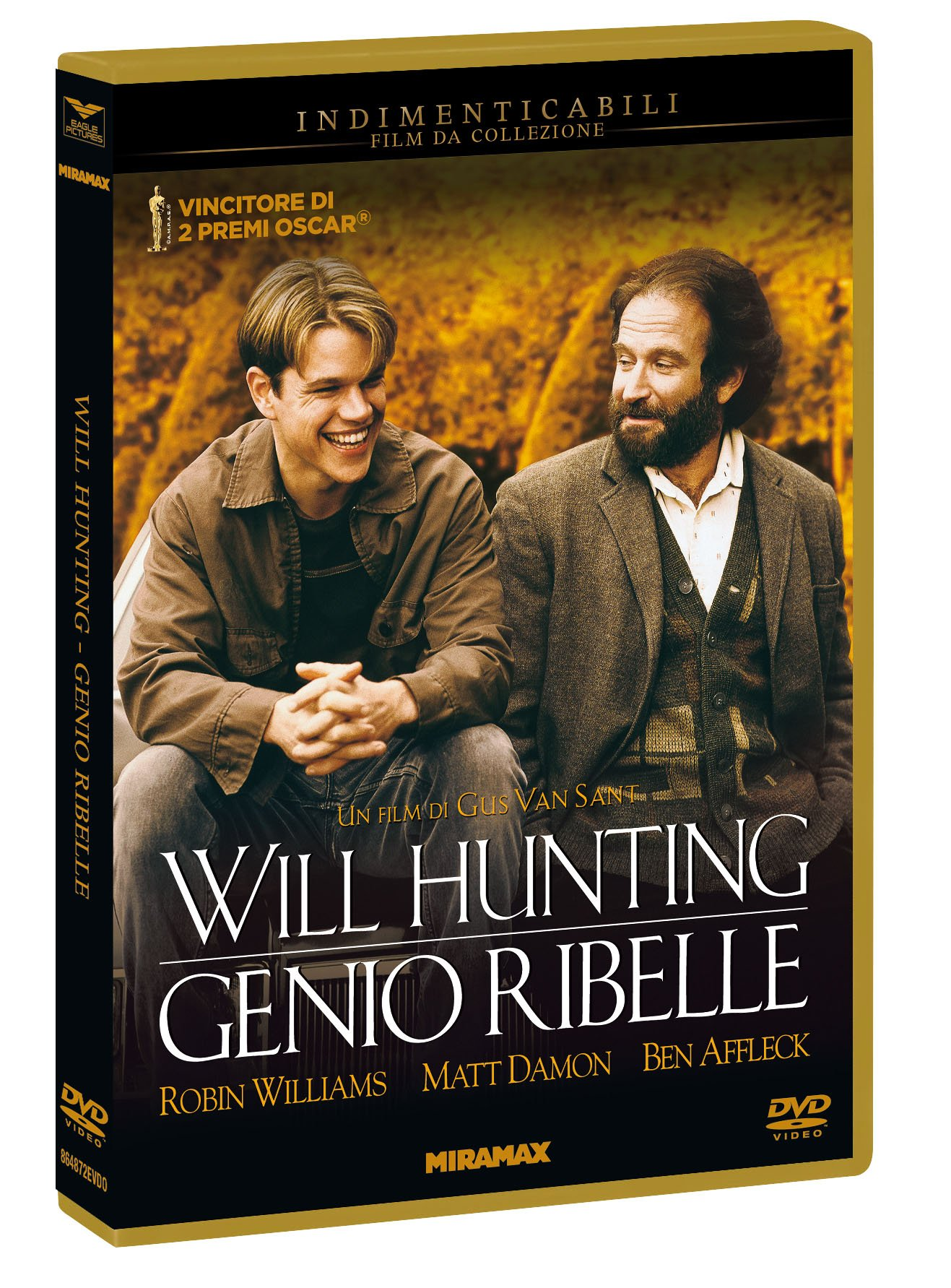 WILL HUNTING - GENIO RIBELLE (INDIMENTICABILI$6) - RMX (DVD)