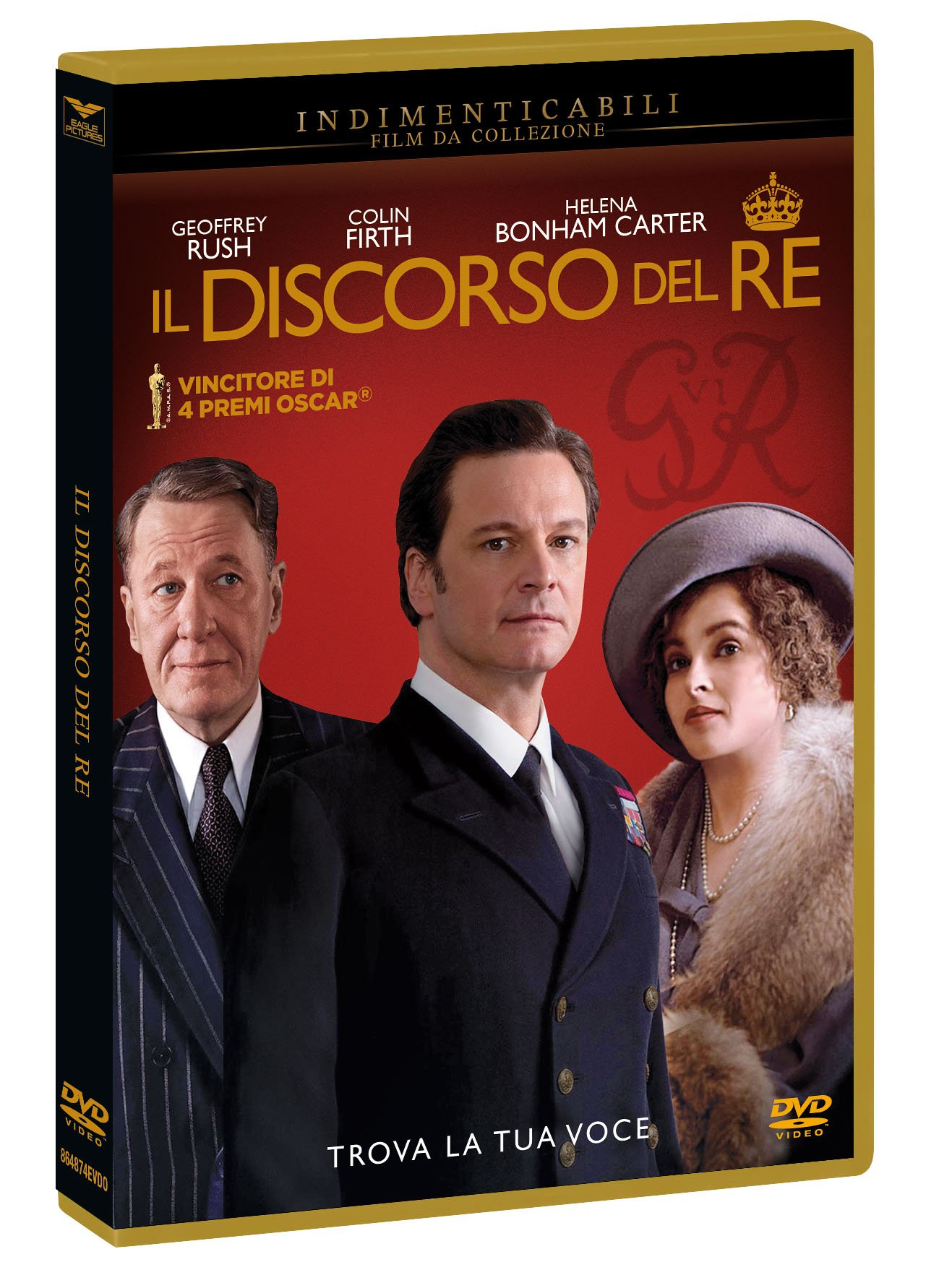 IL DISCORSO DEL RE (INDIMENTICABILI$6) (DVD)