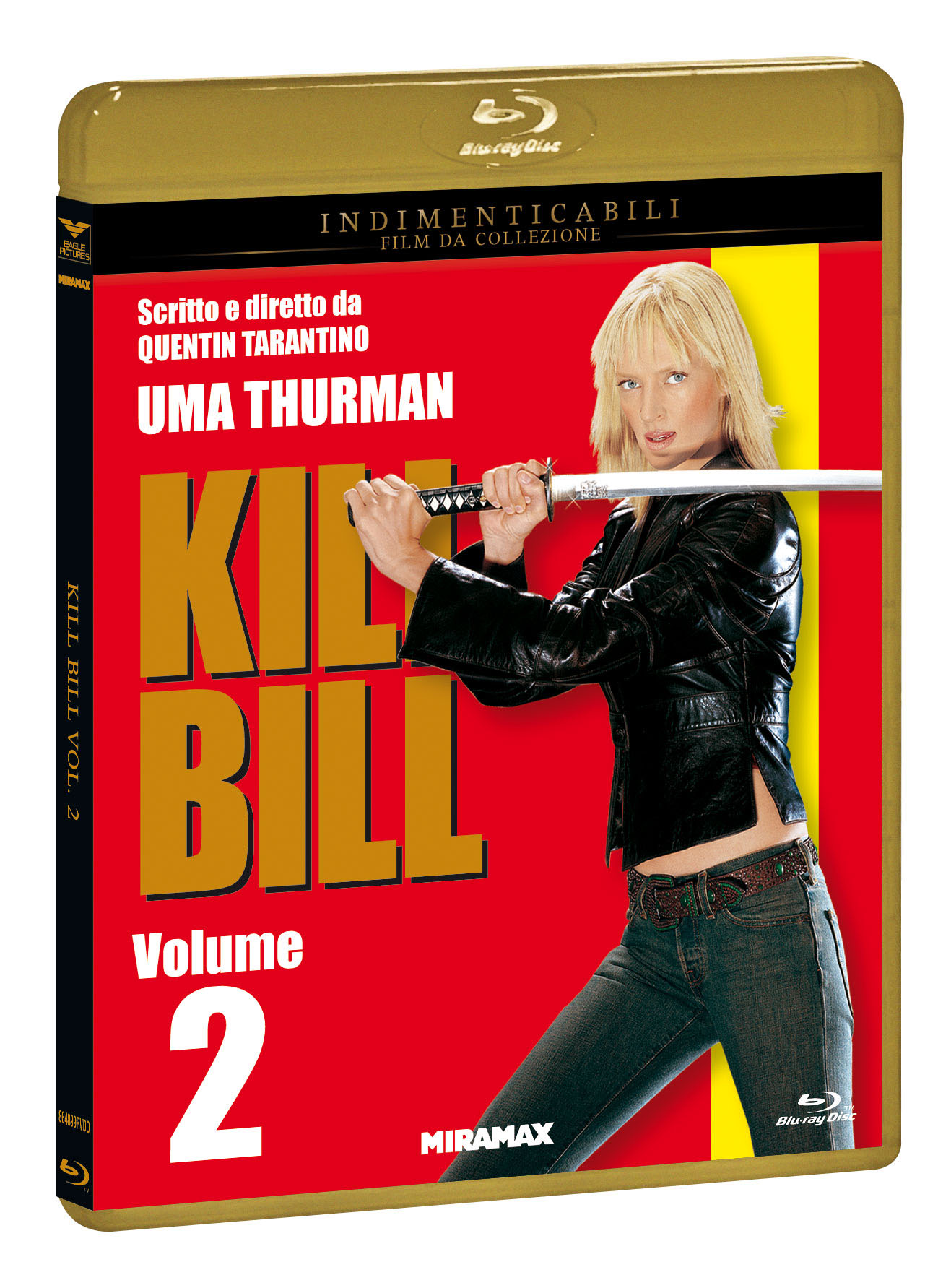 KILL BILL VOL.2 (INDIMENTICABILI) - BLU RAY