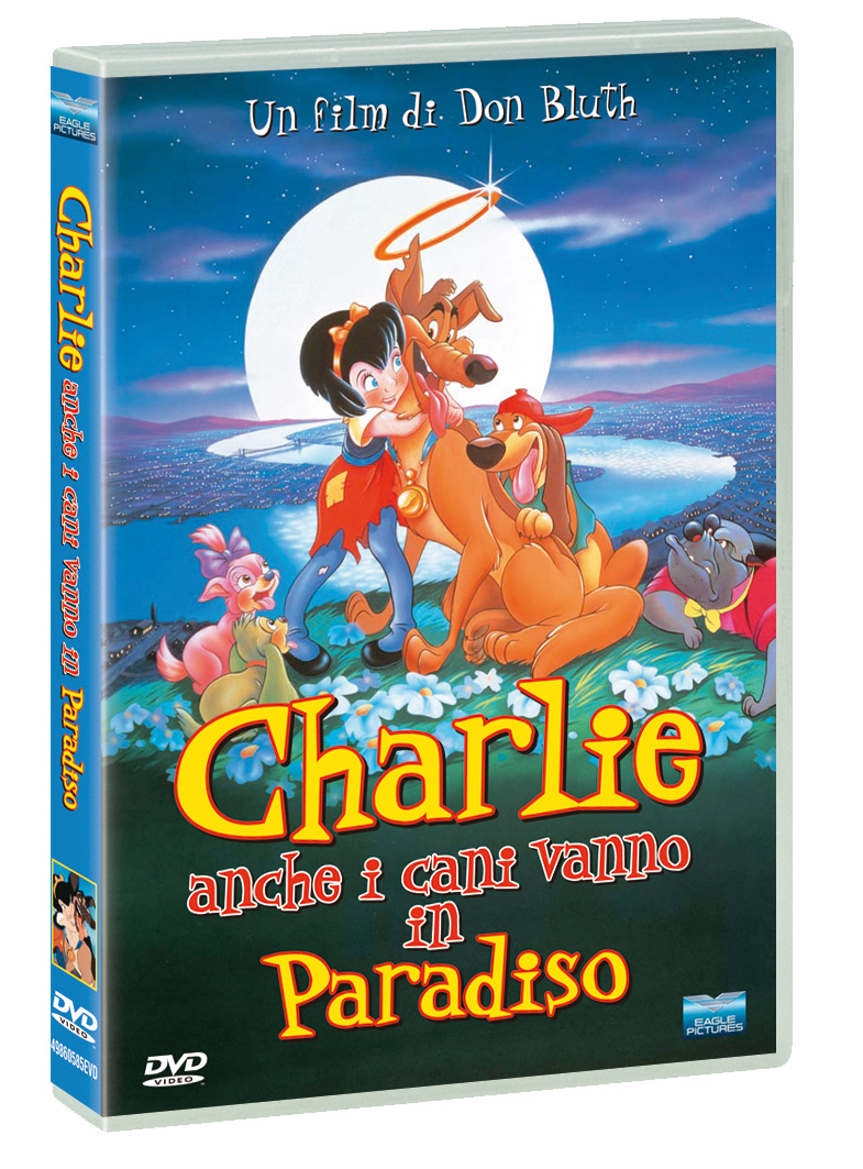 CHARLIE - ANCHE I CANI VANNO IN PARADISO - RMX (DVD)