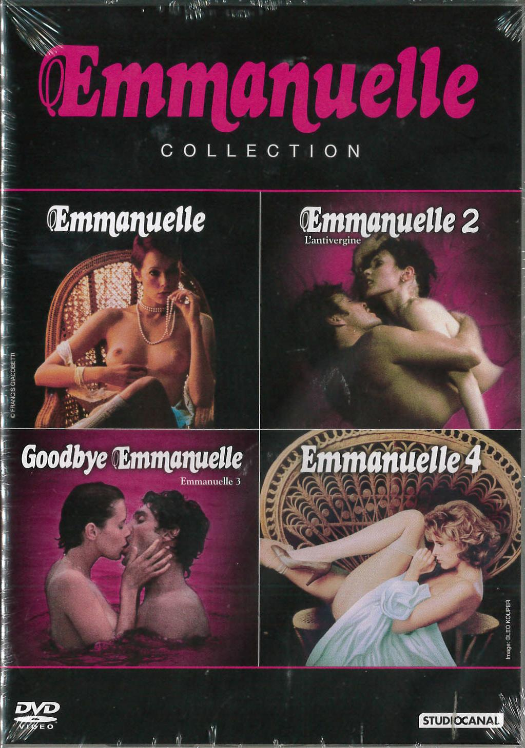 COF.EMMANUELLE COLLECTION (4 DVD) (DVD)