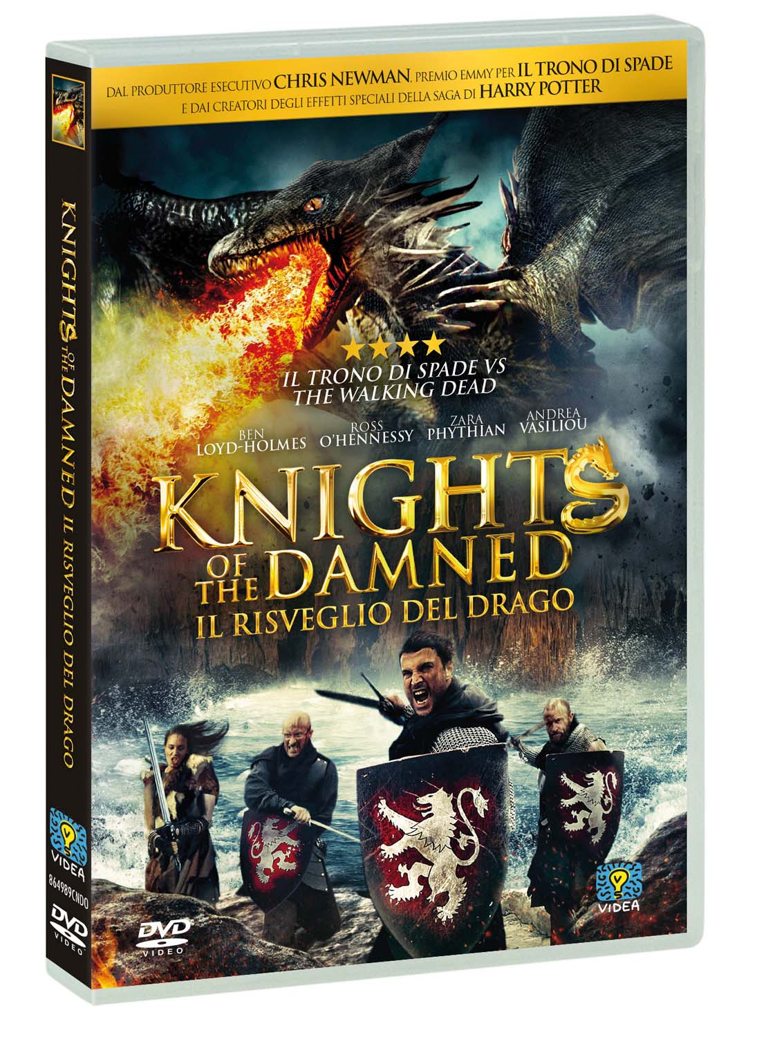 KNIGHTS OF THE DAMNED - IL RISVEGLIO DEL DRAGO (DVD)