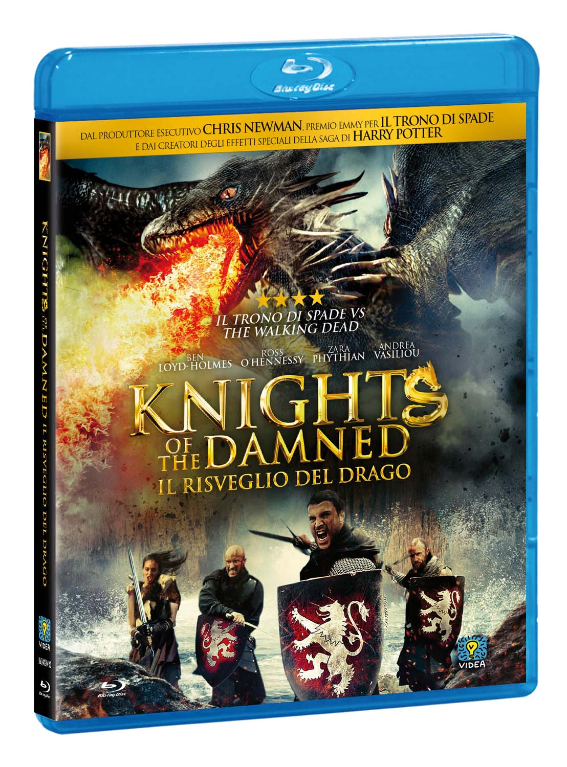 KNIGHTS OF THE DAMNED - IL RISVEGLIO DEL DRAGO - BLU RAY