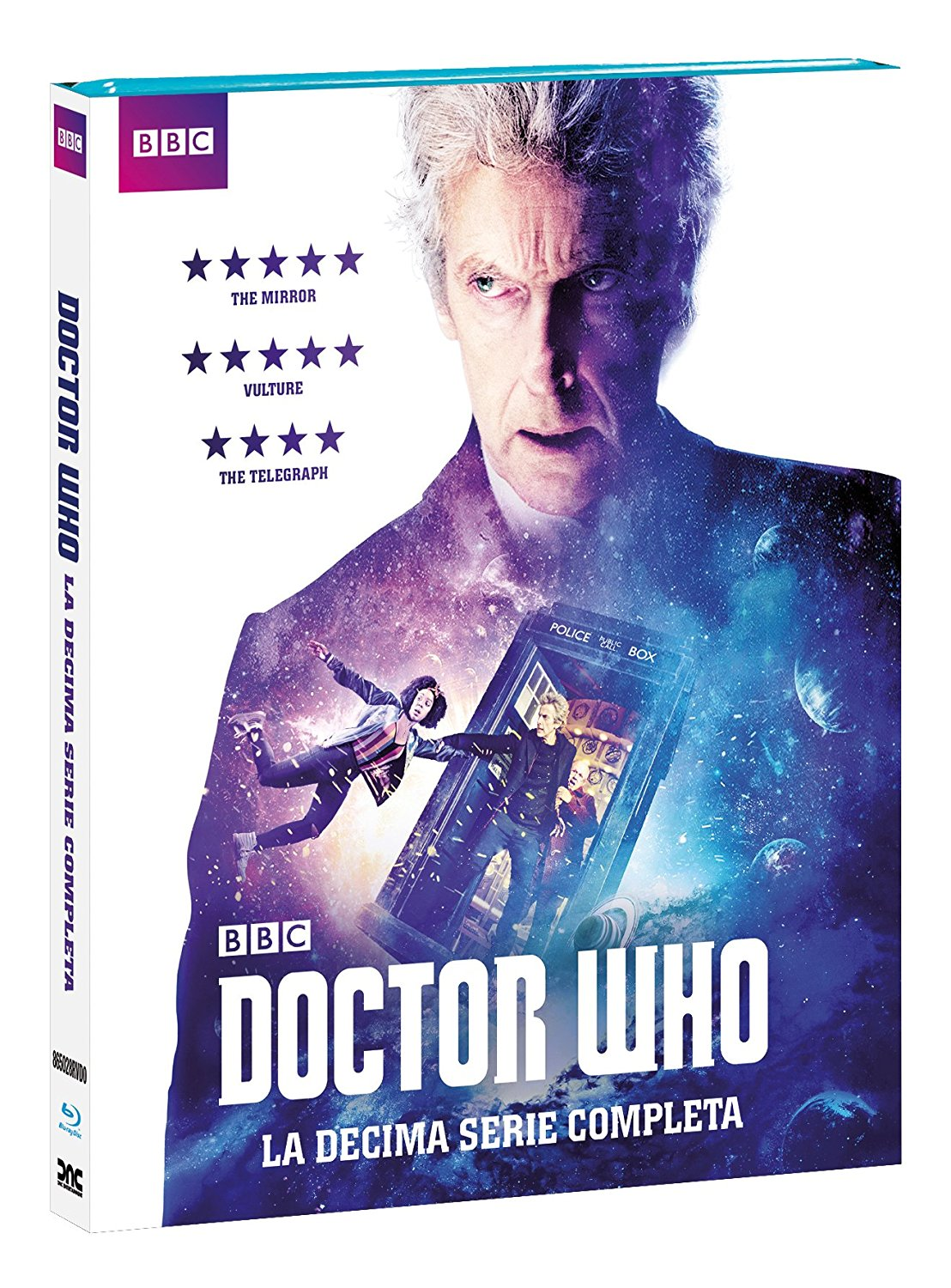 COF.DOCTOR WHO - STAGIONE 10- NEW EDITION (6 BLU RAY)