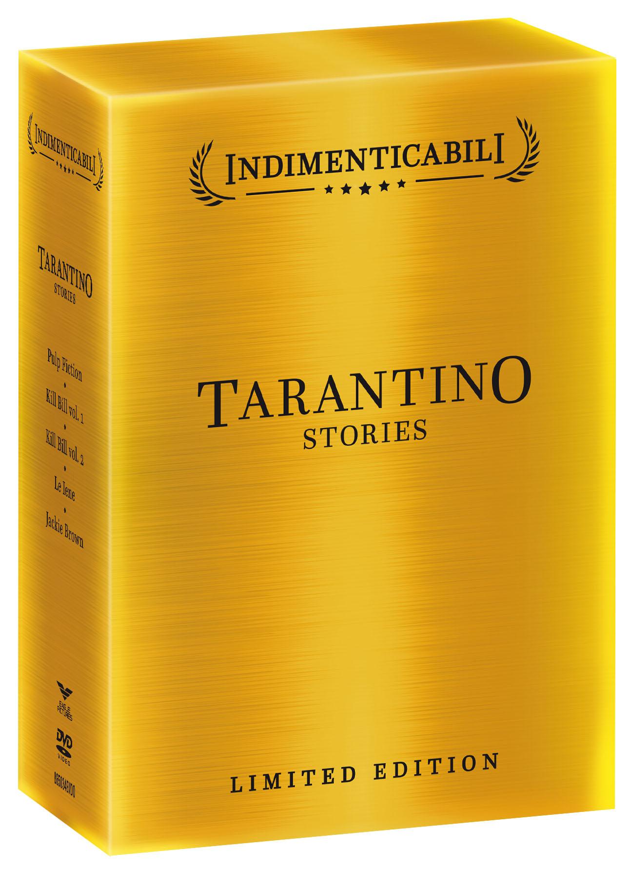 COF.TARANTINO STORIES - COFANETTO INDIMENTICABILI (5 DVD) (DVD)
