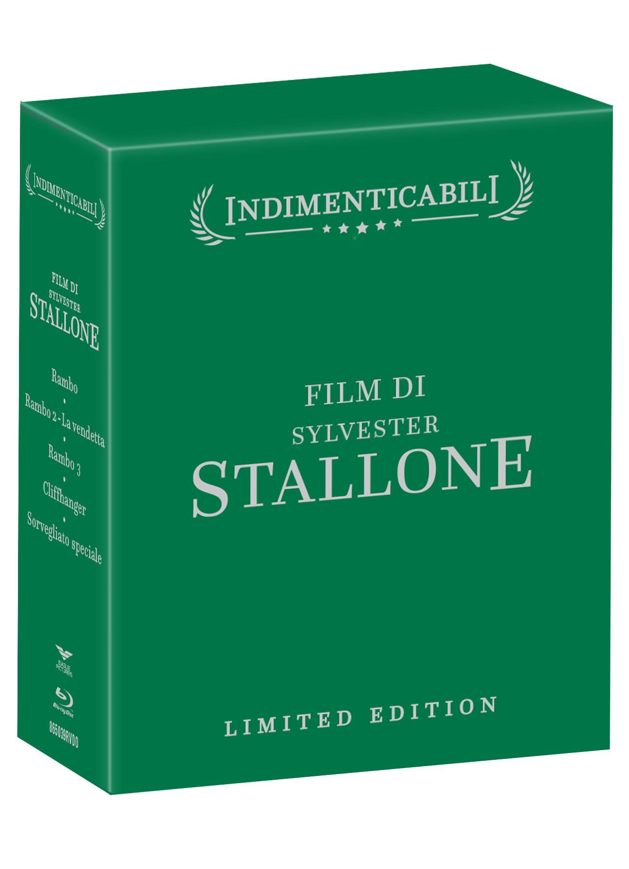 COF.SYLVESTER STALLONE - COFANETTO INDIMENTICABILI (5 BLU-RAY)