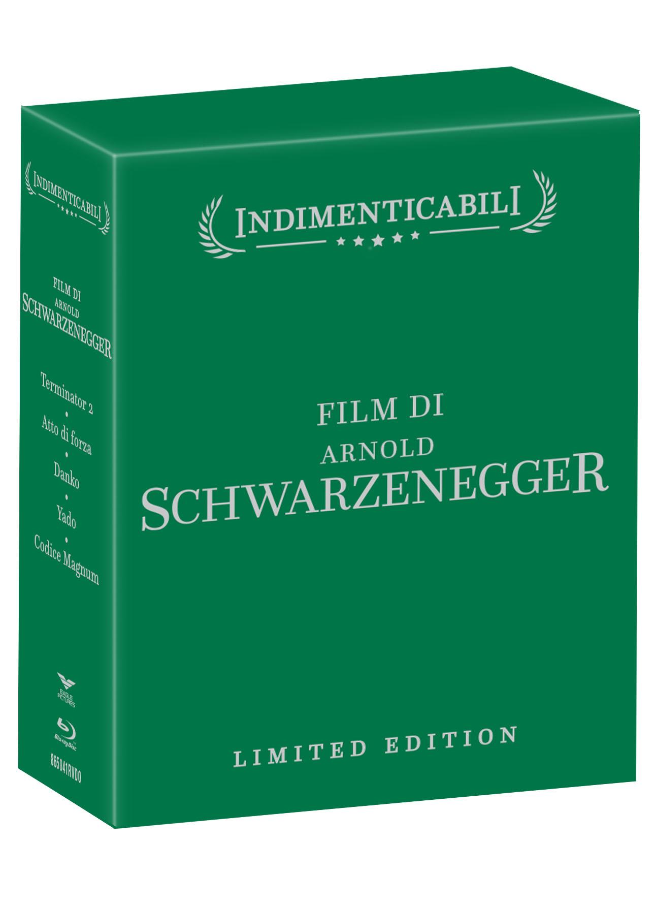COF.ARNOLD SCHWARZENEGGER - COFANETTO INDIMENTICABILI (5 BLU-RAY)
