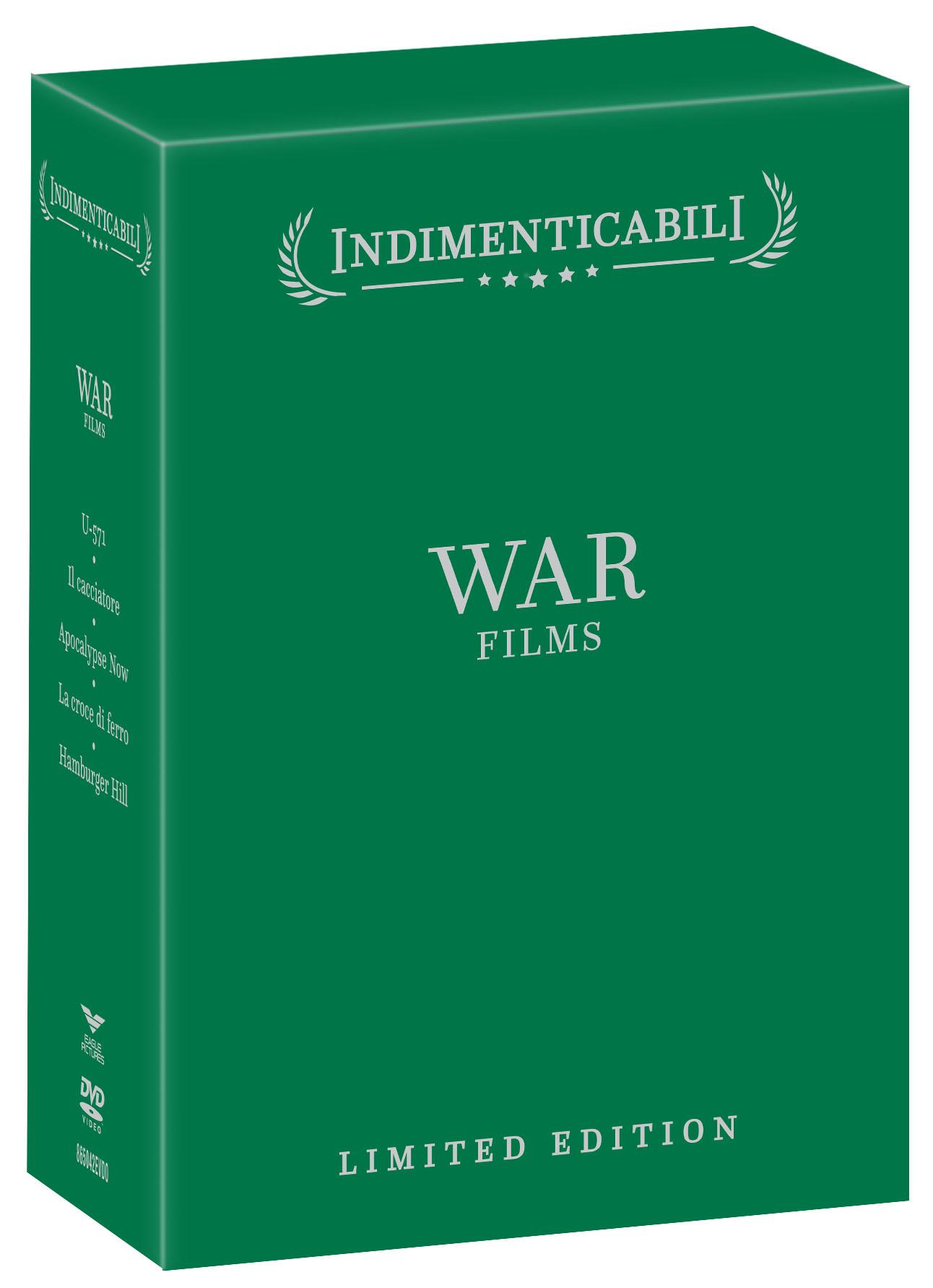 COF.WAR FILMS - COFANETTO INDIMENTICABILI (5 DVD) (DVD)