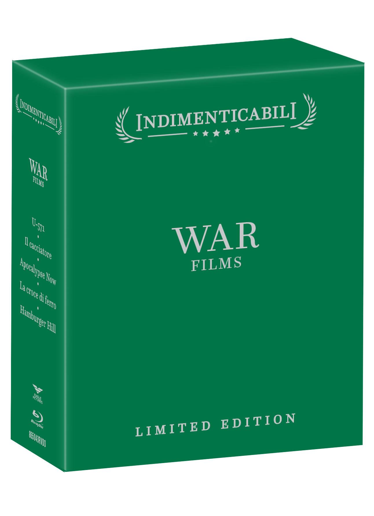 COF.WAR FILMS -$ COFANETTO INDIMENTICABILI (5 BLU-RAY)