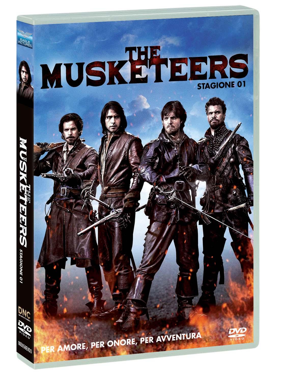 COF.THE MUSKETEERS - SERIE 01 (DVD)