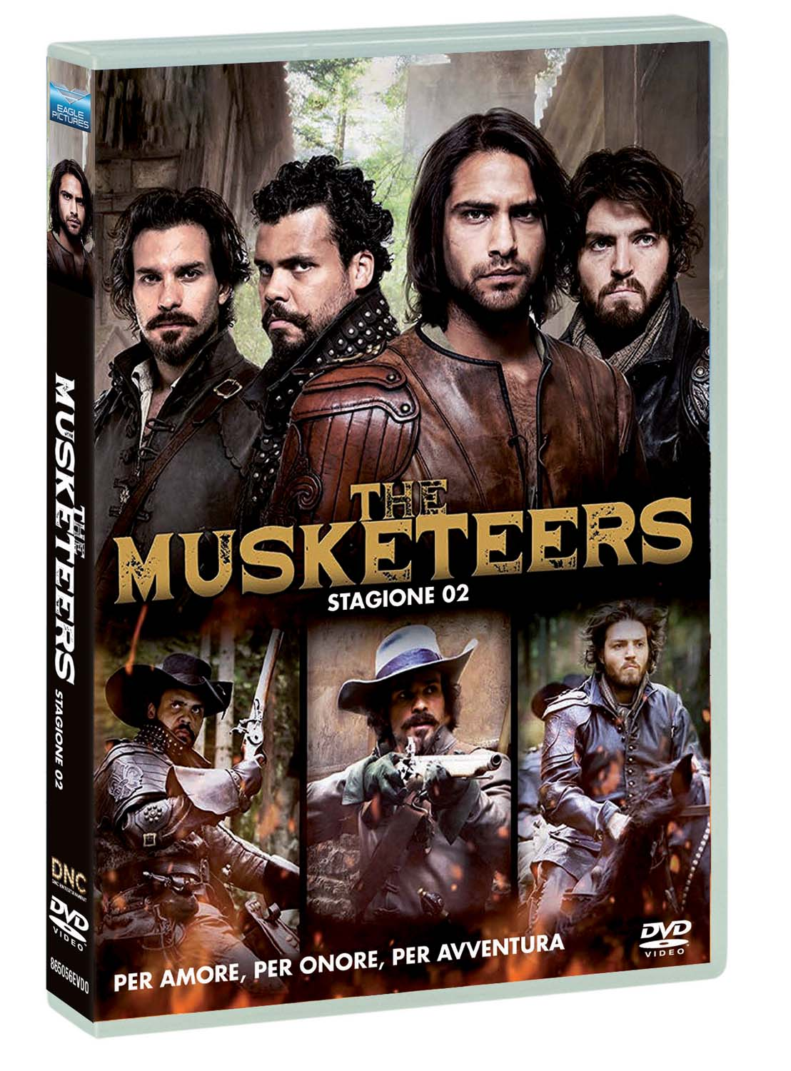 COF.THE MUSKETEERS - SERIE 02 (DVD)