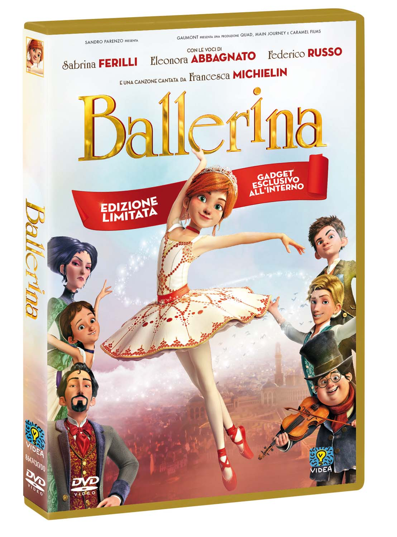 BALLERINA (SPECIAL EDITION GOLD+GADGET TIRATURA LIMITATA) (DVD)