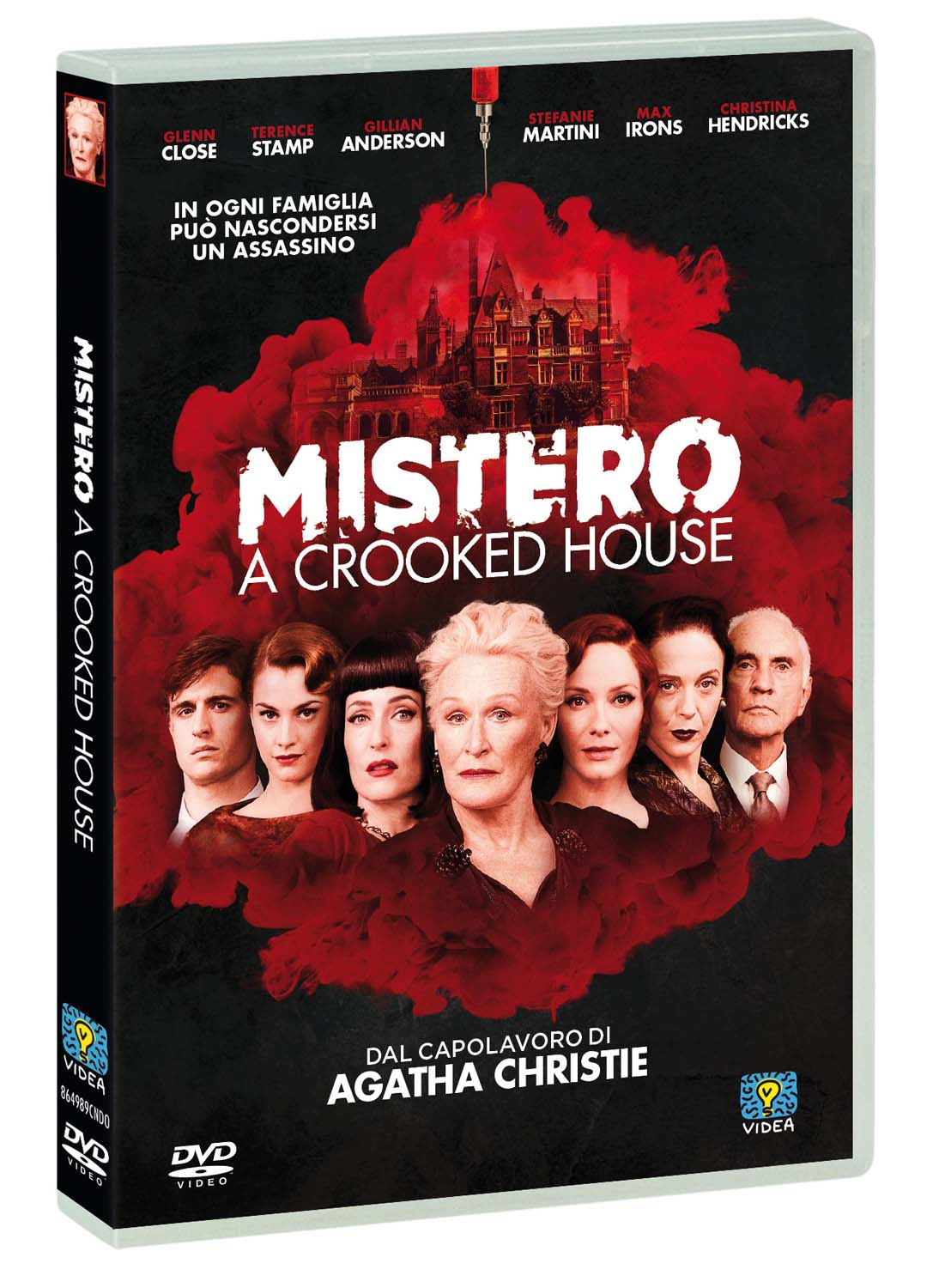 MISTERO - A CROOKED HOUSE (DVD)