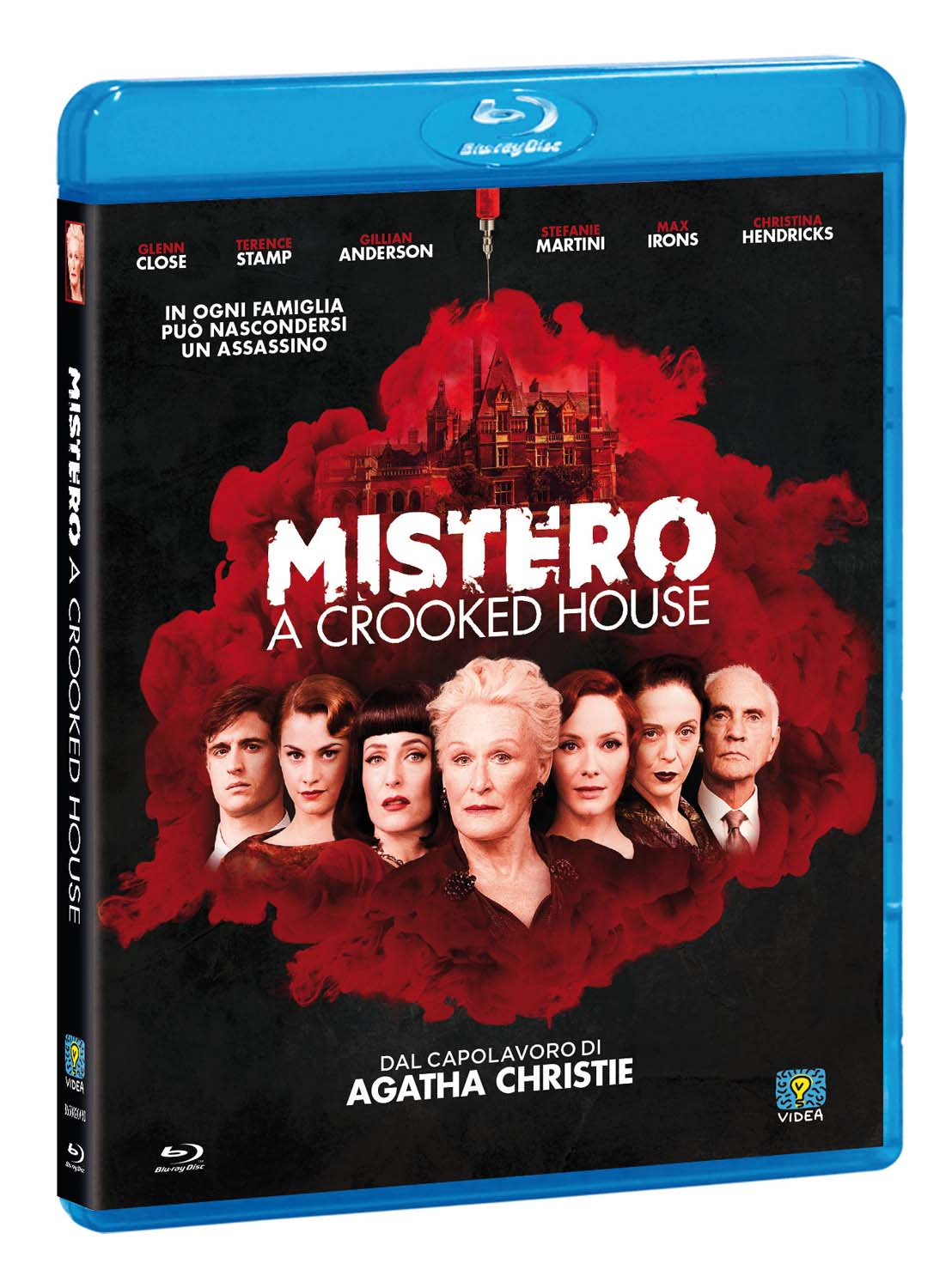 MISTERO - A CROOKED HOUSE - BLU RAY
