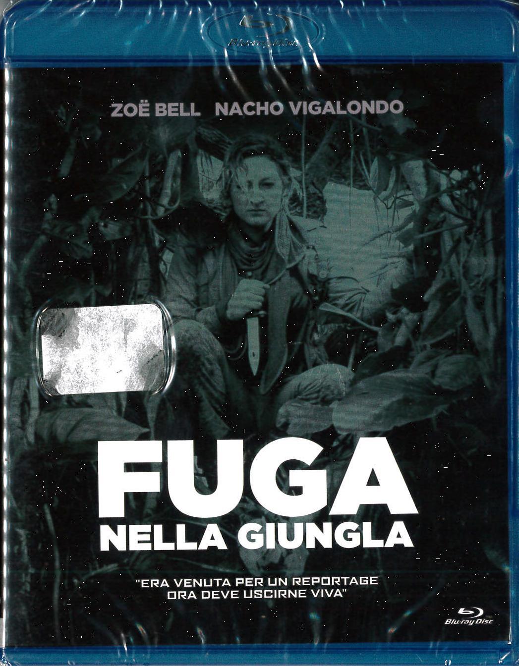 FUGA NELLA GIUNGLA - BLU RAY