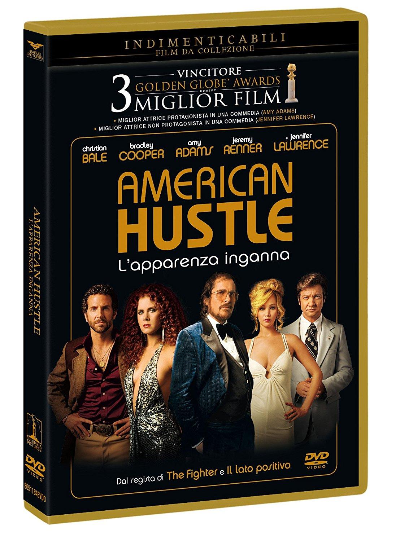 AMERICAN HUSTLE (INDIMENTICABILI) (DVD)