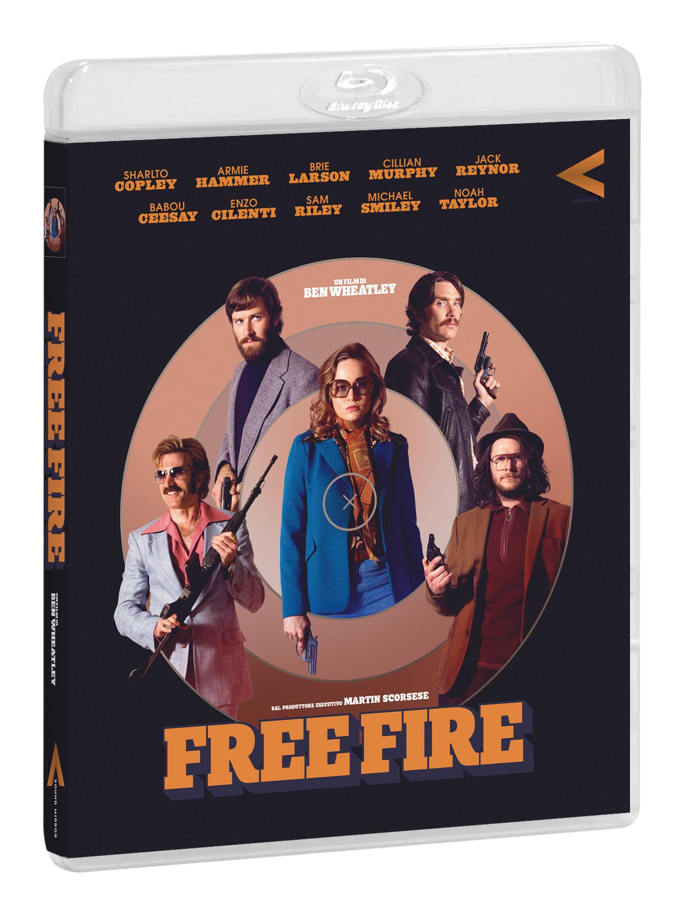 FREE FIRE - BLU RAY