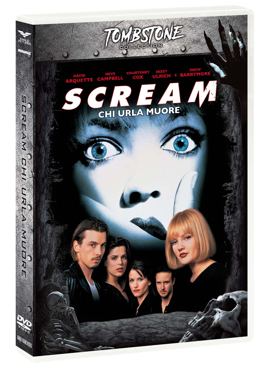 SCREAM (TOMBSTONE) (DVD)