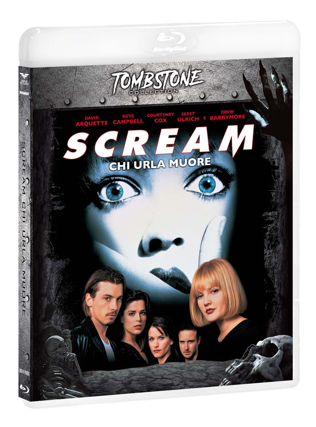 SCREAM (TOMBSTONE) - BLU RAY