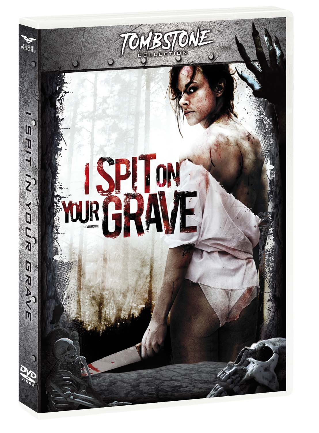 I SPIT ON YOUR GRAVE (TOMBSTONE) - RMX (DVD)