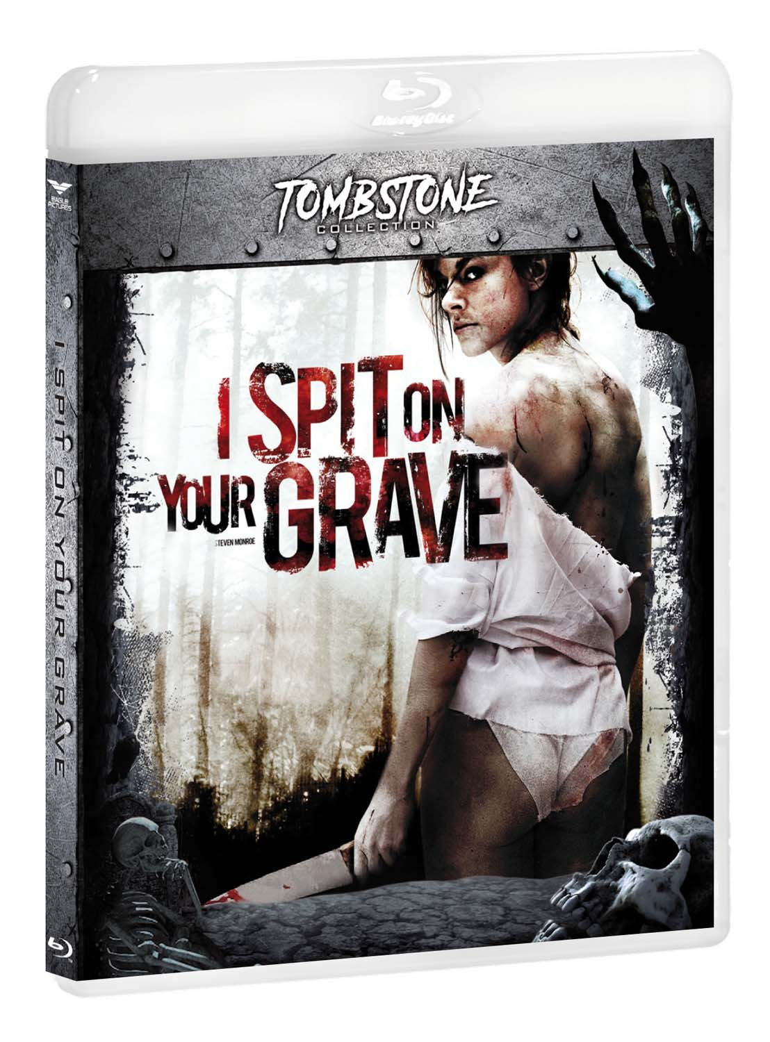 I SPIT ON YOUR GRAVE -RMX (TOMBSTONE) - BLU RAY