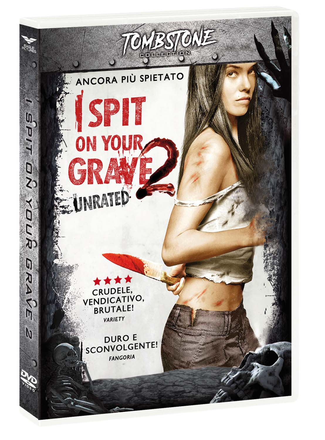 I SPIT ON YOUR GRAVE 2 (TOMBSTONE) (DVD)