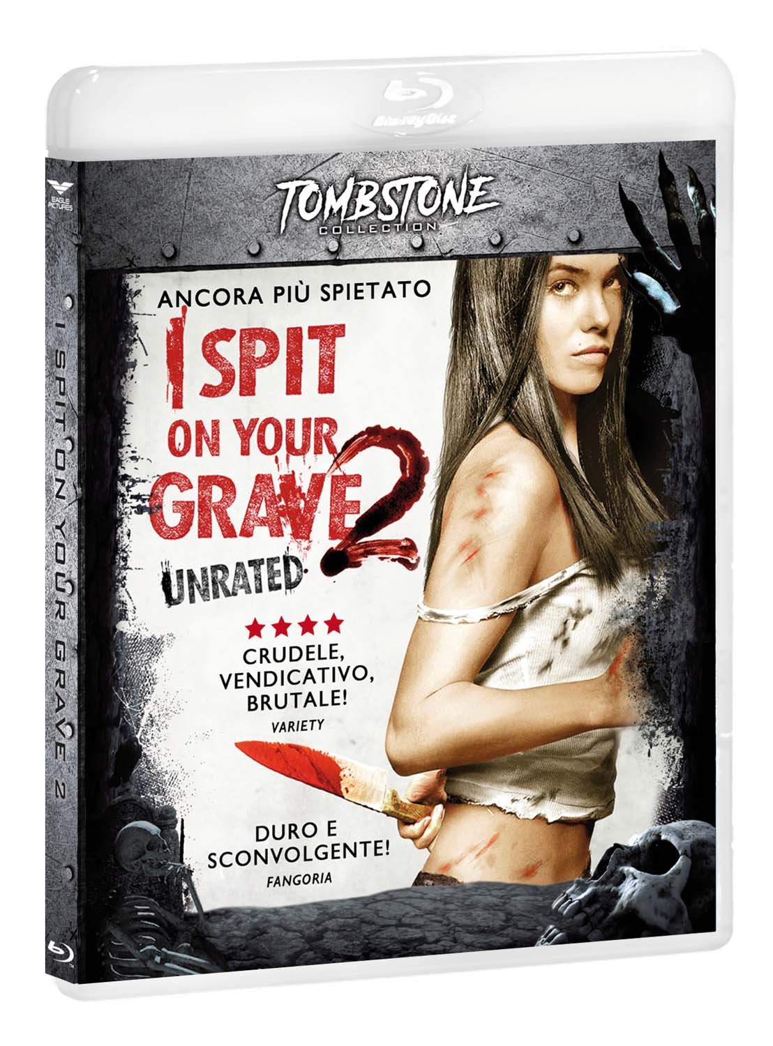 I SPIT ON YOUR GRAVE 2 (TOMBSTONE) - BLU RAY