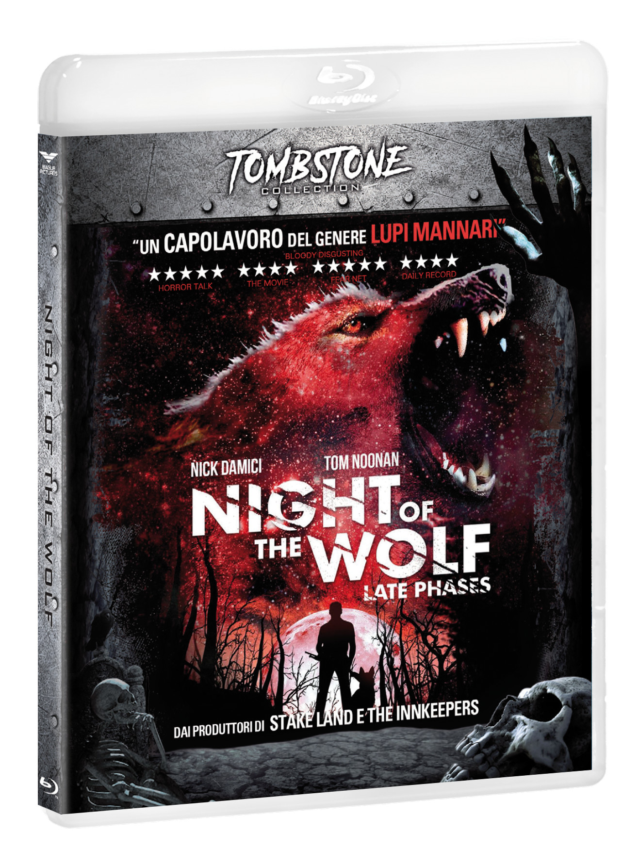 NIGHT OF THE WOLF (TOMBSTONE) - BLU RAY