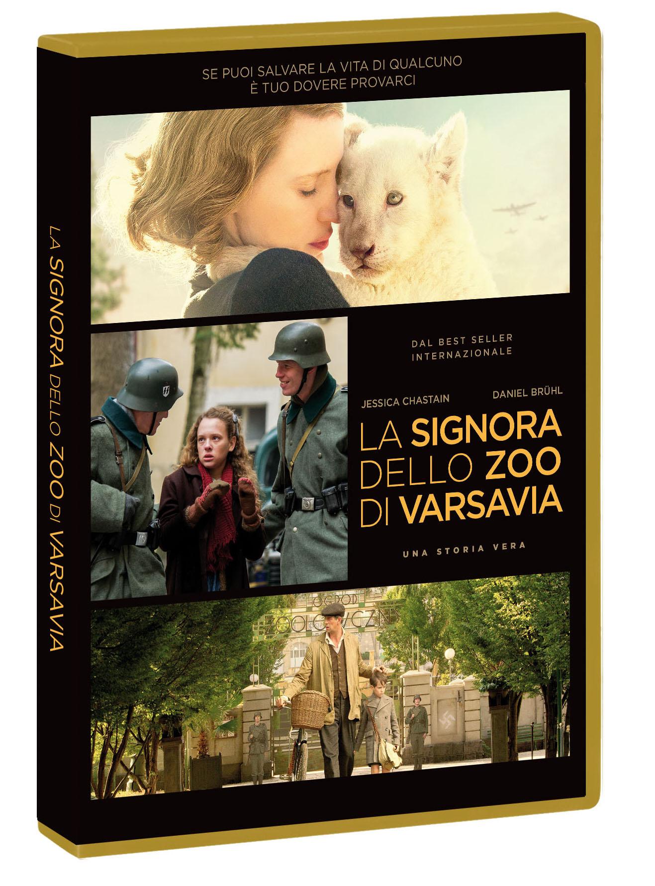 LA SIGNORA DELLO ZOO DI VARSAVIA (DVD)