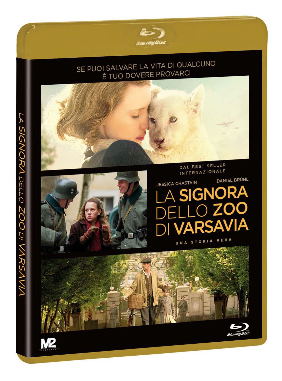 LA SIGNORA DELLO ZOO DI VARSAVIA - BLU RAY