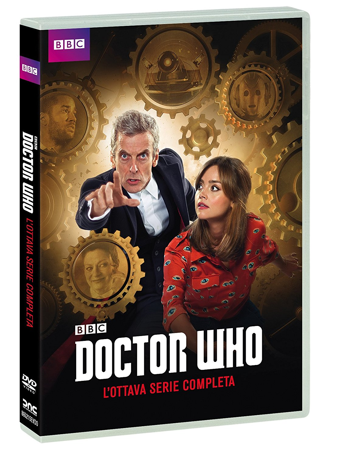COF.DOCTOR WHO - STAGIONE 08 - NEW EDITION + SPECIAL LAST CHRISTMAS (5 DVD) (DVD)