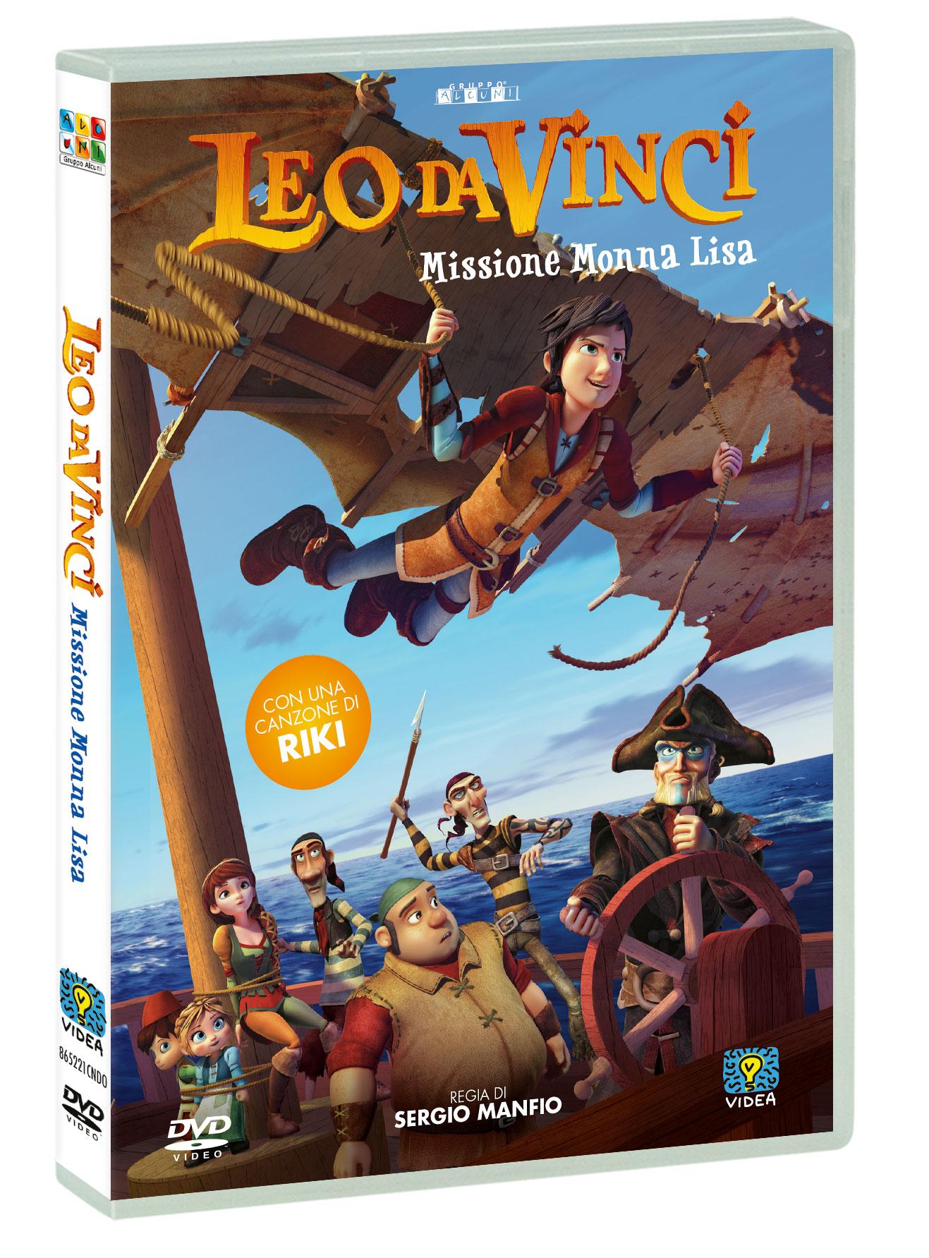 LEO DA VINCI - MISSIONE MONNA LISA (DVD)