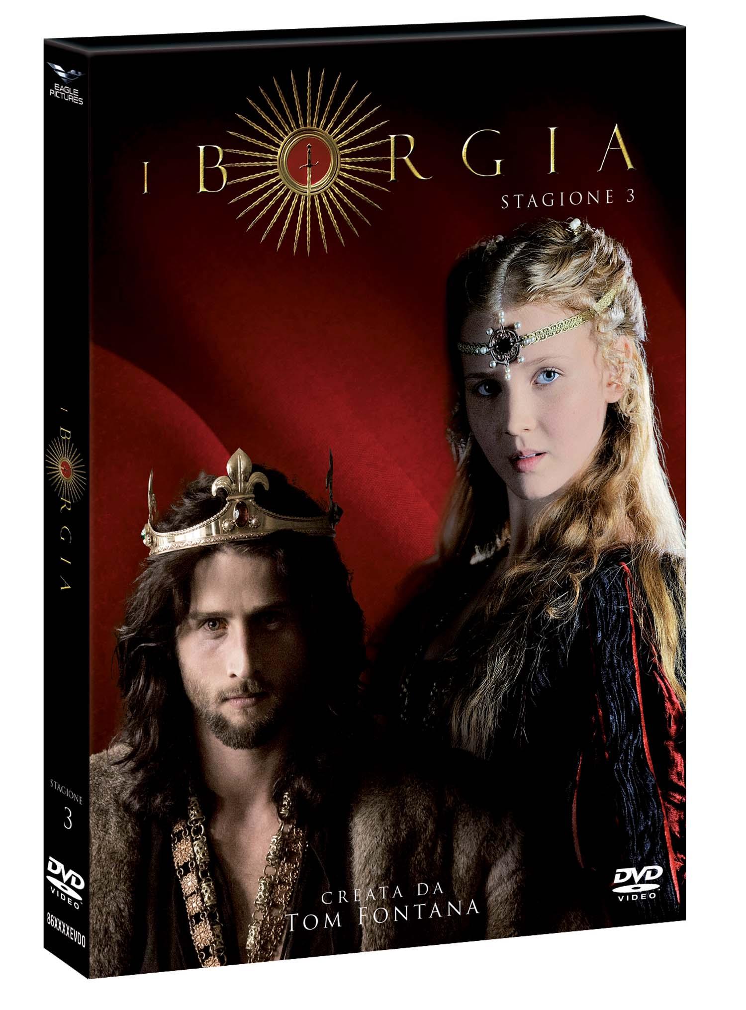 COF.I BORGIA - STAGIONE 03 (4 DVD) (DVD)