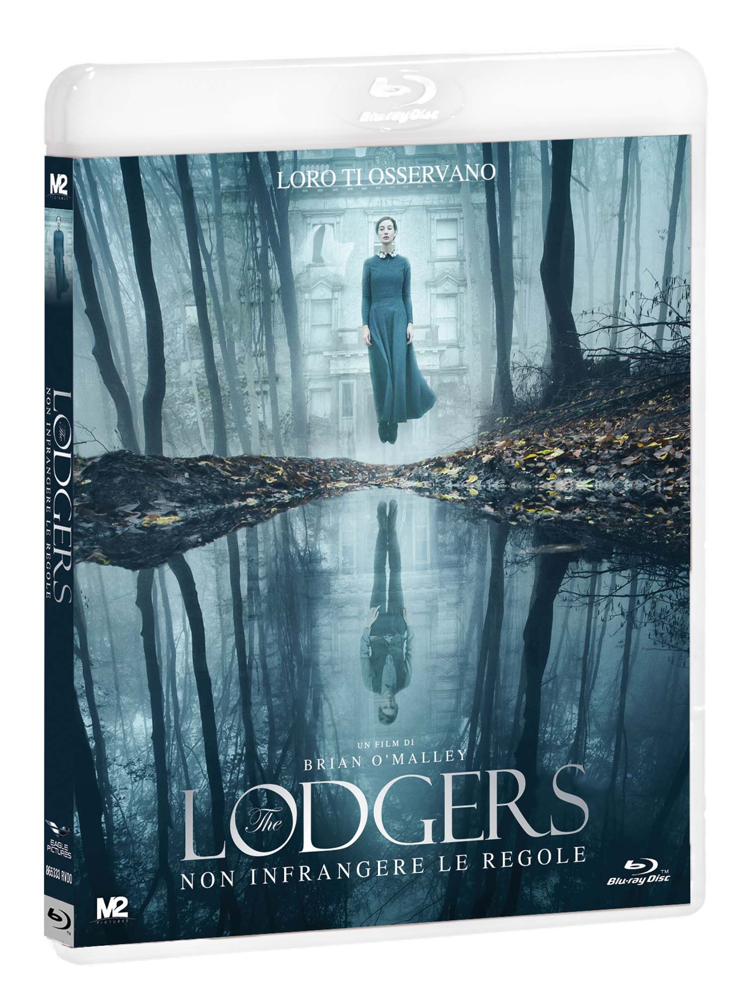 THE LODGERS - NON INFRANGERE LE REGOLE - BLU RAY