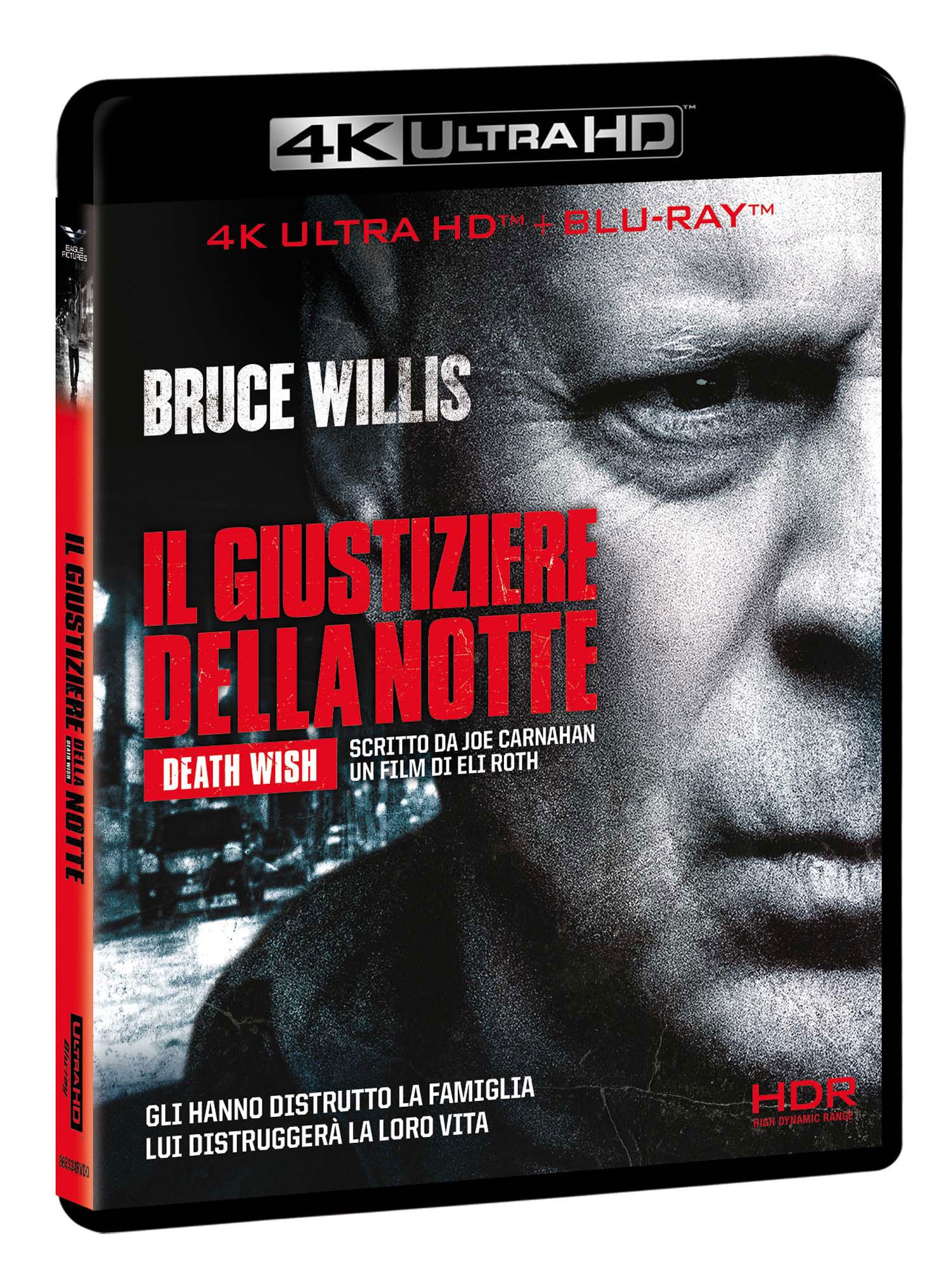 IL GIUSTIZIERE DELLA NOTTE (4K+BLU-RAY)