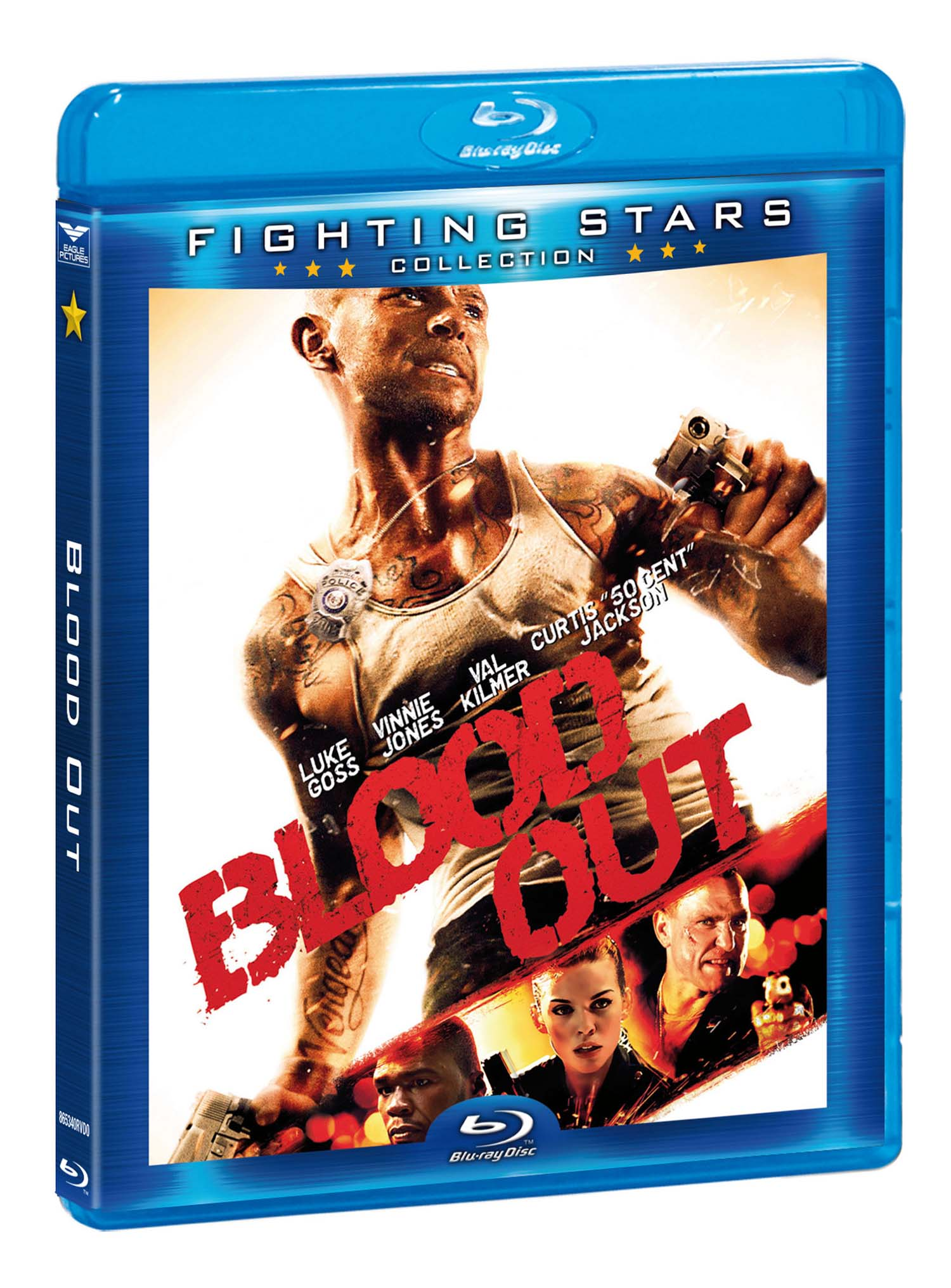 BLOOD OUT (FIGHTING STARS) - BLU RAY