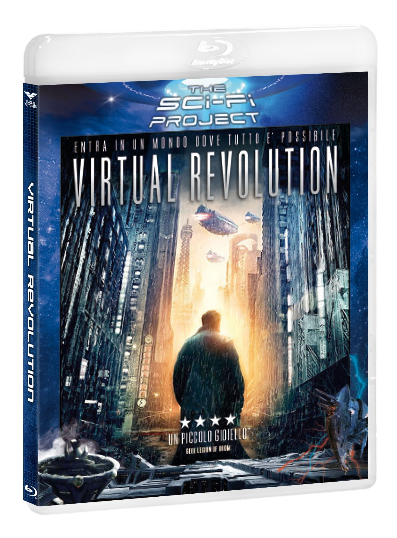 VIRTUAL REVOLUTION (SCI-FI PROJECT) - BLU RAY