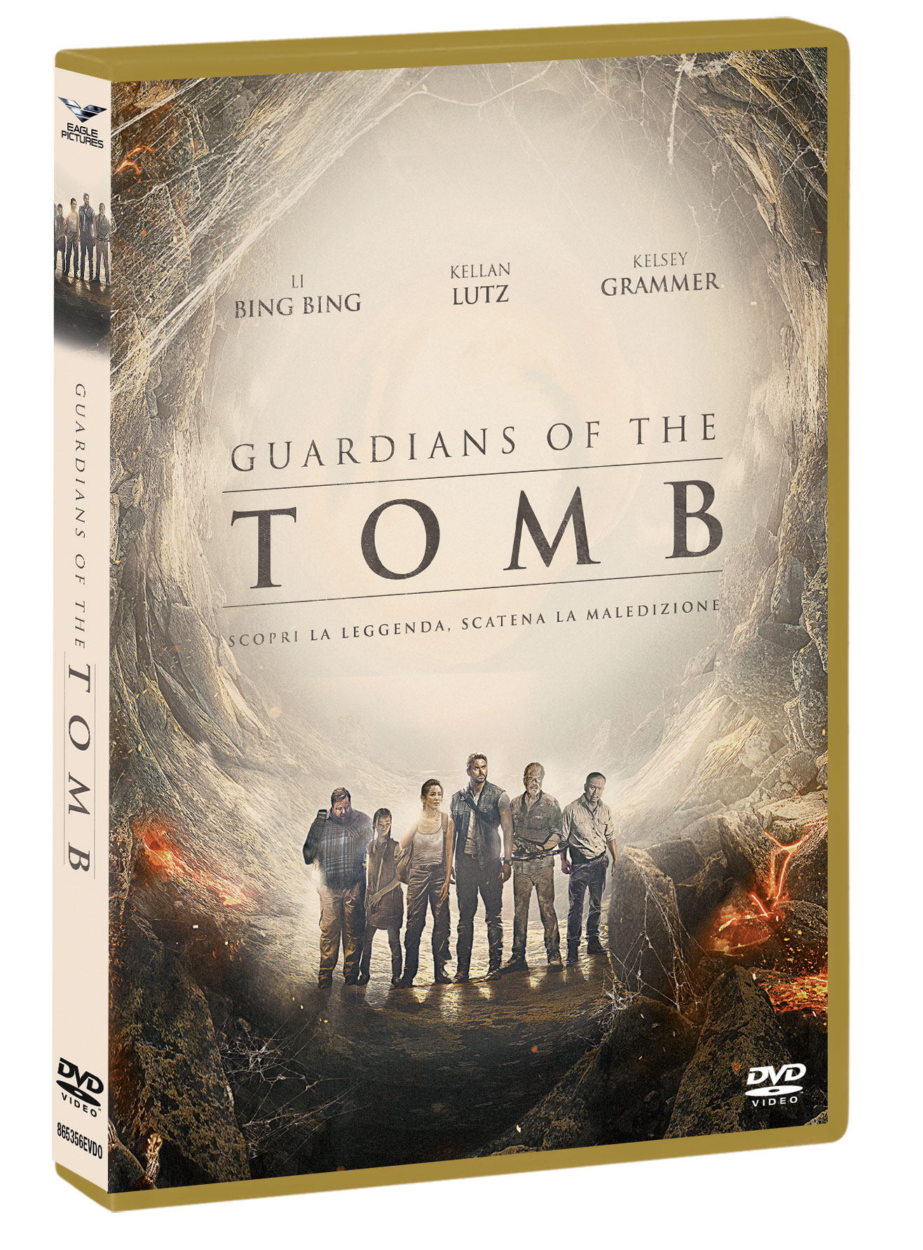 GUARDIANS OF THE TOMB - BLU RAY (DVD)