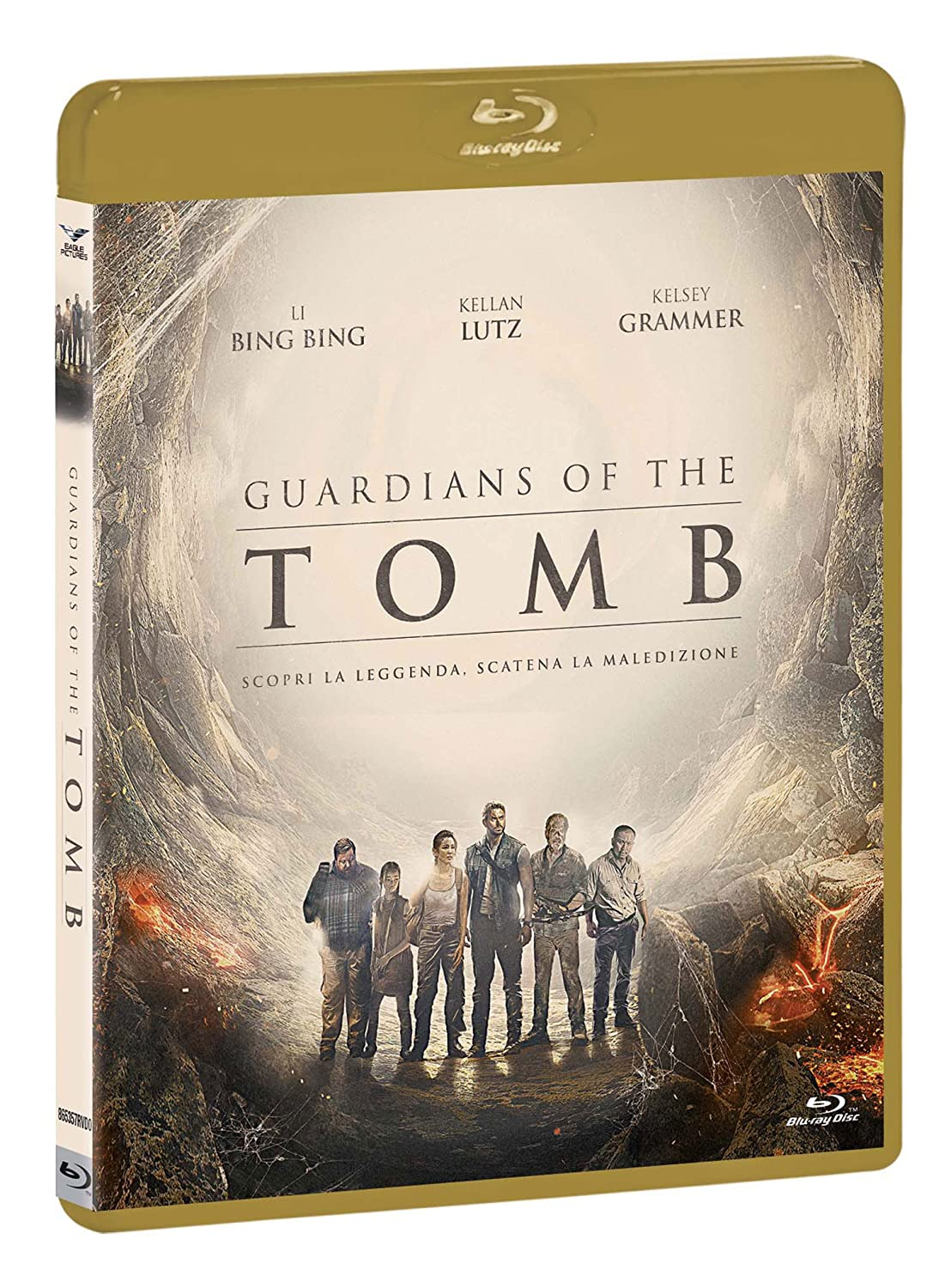 GUARDIANS OF THE TOMB - BLU RAY