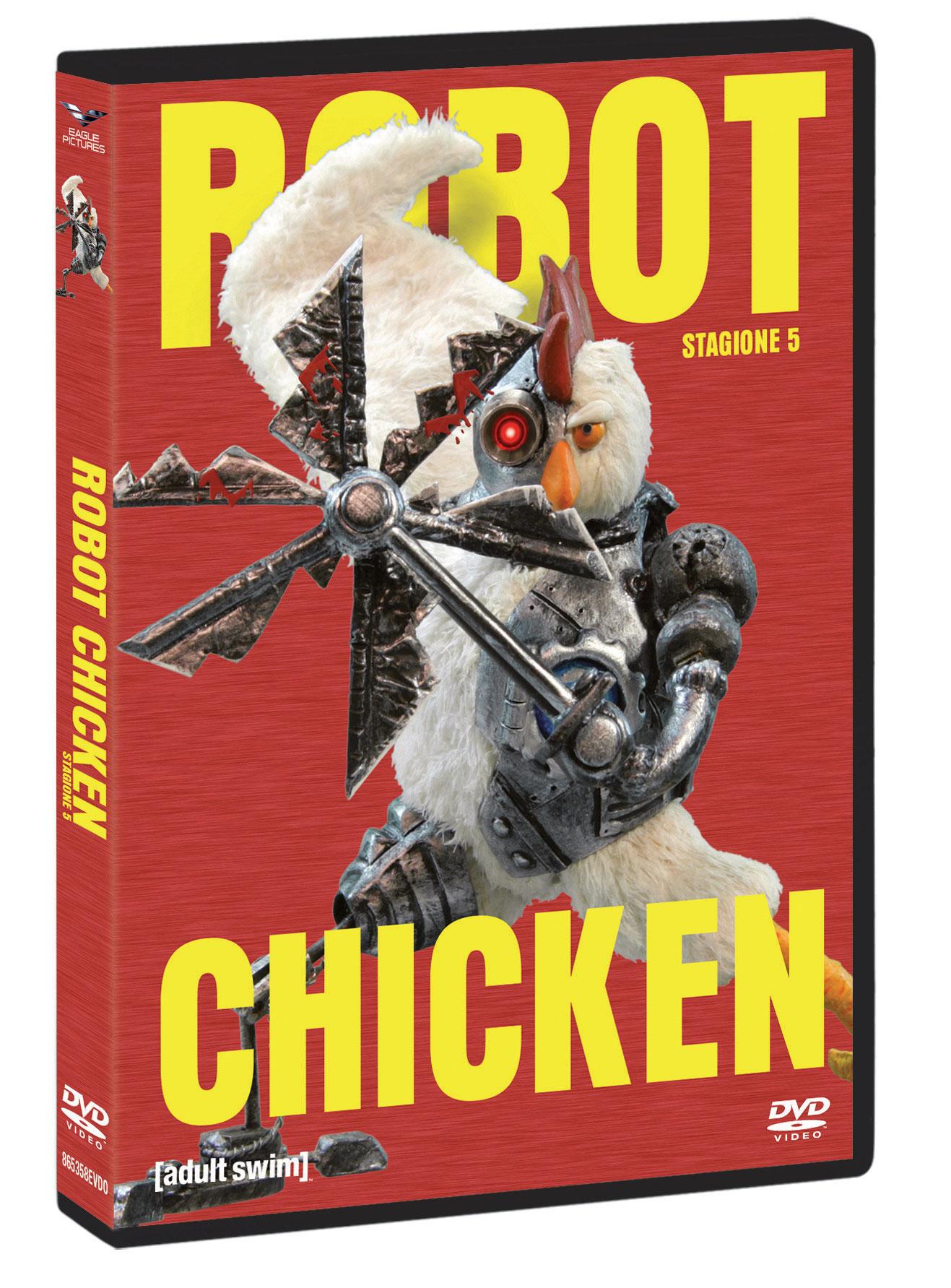 COF.ROBOT CHICKEN - STAGIONE 05 (2 DVD+GADGET) (DVD)