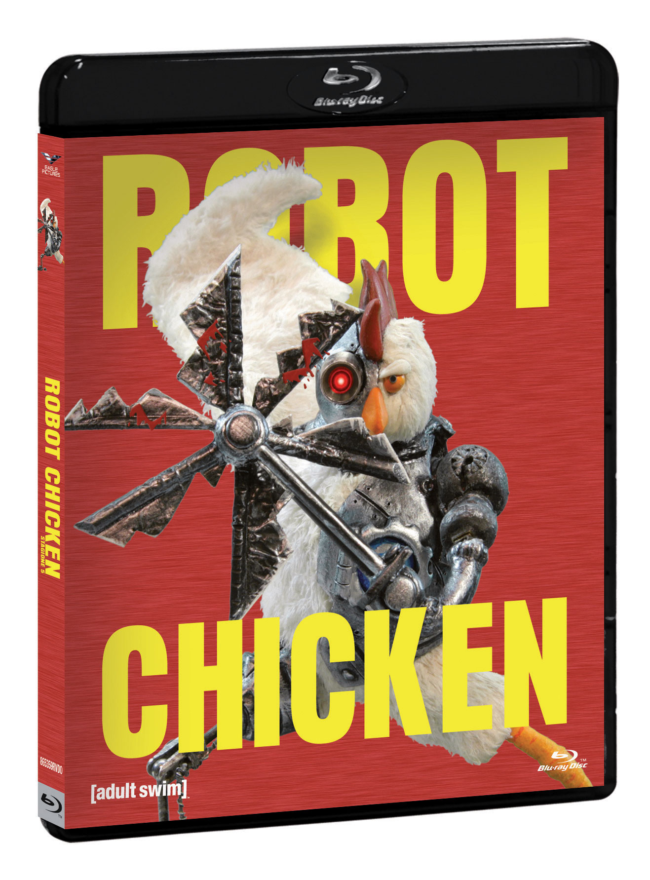COF.ROBOT CHICKEN - STAGIONE 05 (BLU-RAY+GADGET)