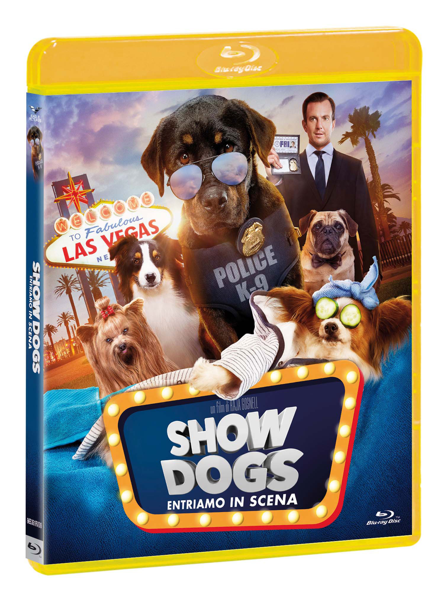 SHOW DOGS - BLU RAY