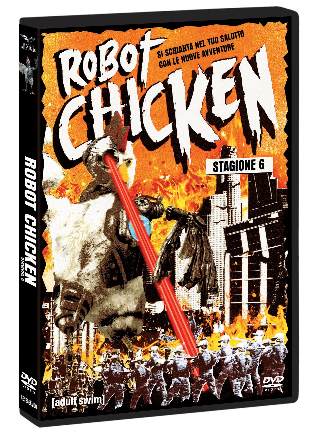 COF.ROBOT CHICKEN - STAGIONE 06 (2 DVD+GADGET) (DVD)