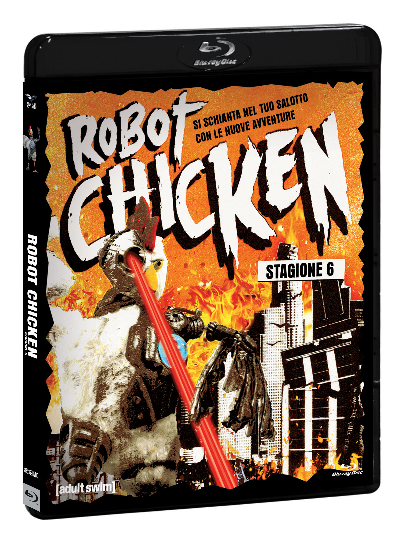 COF.ROBOT CHICKEN - STAGIONE 06 (BLU-RAY+GADGET)